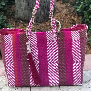 Handbags - Recycled plastic beach tote